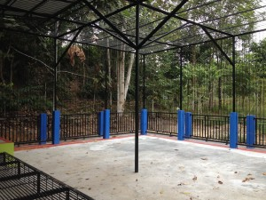 New empty cage for Fitri and Rina