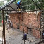 Construction of 2 dens for enclosure M